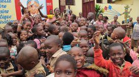 Naše děti v Guineji