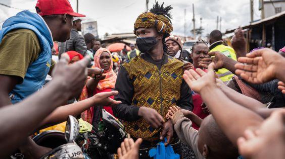 Kreativní Kibera, Zdroj: Vogue.com