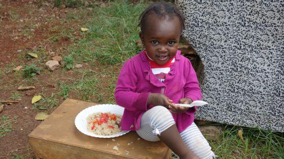 jídlo v Kibeře je prioritou i pro nás