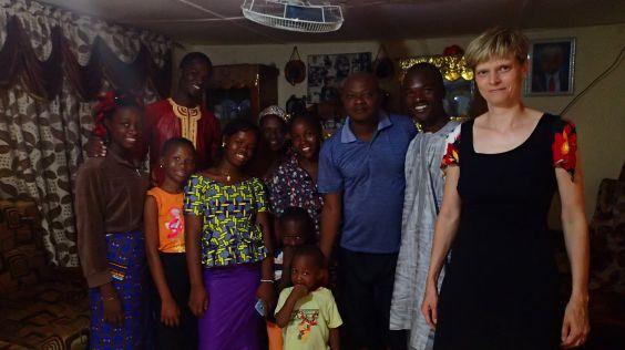 Návštěva rodiny